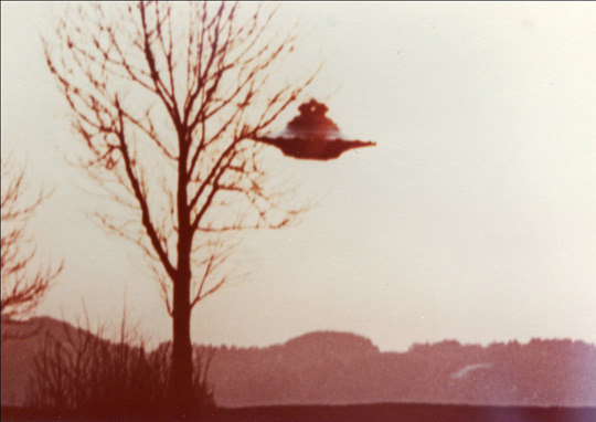 Billy Meier UFO Photo