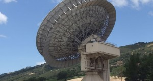 The Jamesburg Earth Station in Carmel, CA.