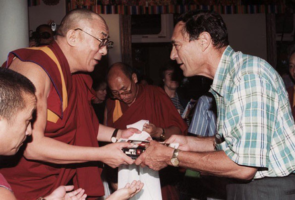 John Mack and the Dalai Lama