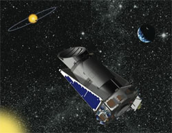 NASA's Kepler telescope. (credit: NASA)