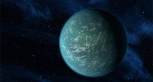 Artist's conception of Kepler-22b (Credit: NASA/Ames/JPL-Caltech)