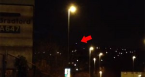 UFO over Leeds. (Credit: Yorkshire Post)