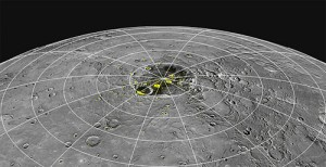 Evidence points to water ice and organics on Mercury