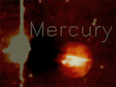 UFO near Mercury
