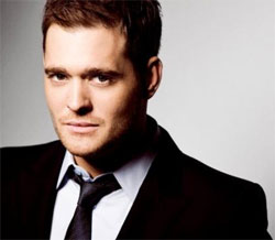 Singer Michael Bublé. (Credit: MichaelBuble.com)