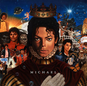 Cover art for Michael (credit: michaeljackson.com)