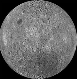 Image of the moon's far side (credit: NASA/Arizona State University)