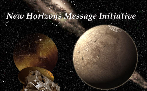 The campaign to store a message to aliens on a NASA spacecraft