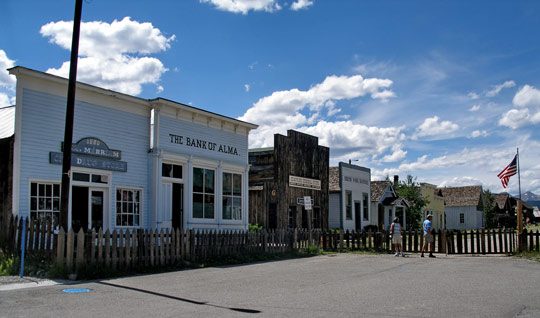 South Park City, 1880's re-creation located in the town of Fairplay, Colorado. (image credit: D.Broberg)