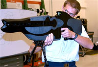 Demonstrating a PHaSER. (credit: US Air Force)