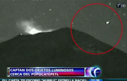 More UFO activity at Mexico's Popocatepetl volcano