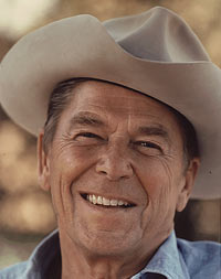 Reagan in 1976