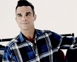 Singer Robbie Williams. (Credit: RobbieWilliams.com)