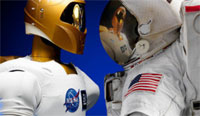 Robonaut (credit: NASA)