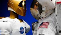 Robonaut (credit: NASA)