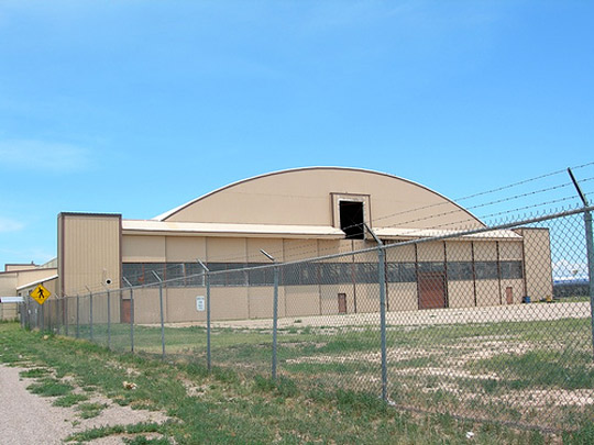 Hangar P-3 Building 84 at Roswell Army Airfield. (image credit: Dave Ruffino)
