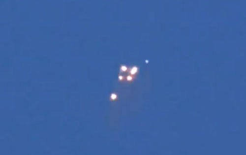 Stunning UFO sighting over Russia