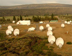 SETI's Allen Telescope Array. (credit: SETI)