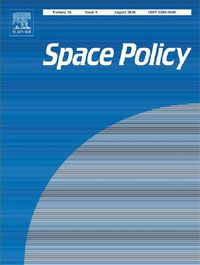 Cover of the Space Policy journal