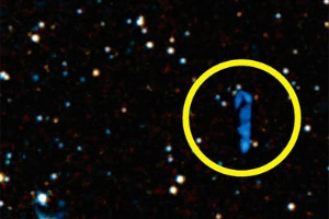 Alleged spaceship (credit: SkyView/Examiner)