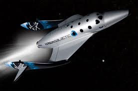 Virgin Galactic's SpaceShipTwo (credit: Virgin Galactic)