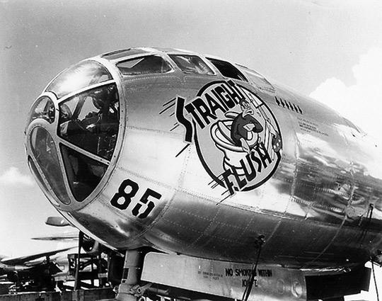 B-29 bomber, Straight Flush