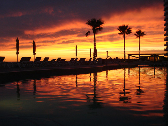 A sunset in Puerto Penasco.