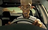 Kia's alien (credit: Kia Motor Company)