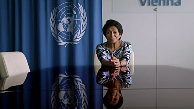 Mazlan Othman from the U.N. Office for Outer Space Affairs. (Credit: Magic Hour Films)