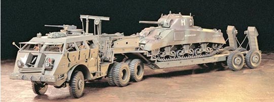 Figure 4: Army M25 40 ton tank transporter 