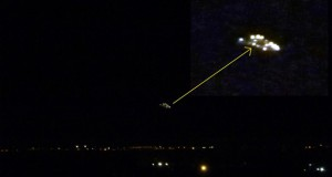 Valentine's Day UFO photographed over Rivoli, Italy