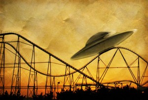 UFO reports up, UFO reports down: The media's roller coaster reporting
