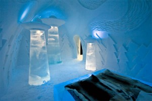 Icehotel number 23 takes inspiration from the unknown
