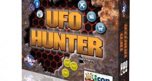 The 'UFO Hunter' board game. (Credit: Joe Magic Games)