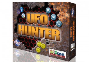 The 'UFO Hunter' board game. (Credit: Joe Magic Games)