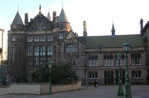 The University of Edinburgh. (Credit: Maccoinnich/Wikimedia Commons)