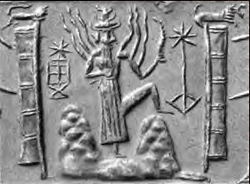 Sumerian Sun God.