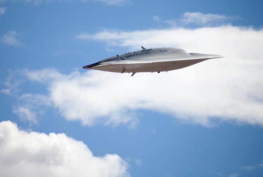 The X-47b. (Credit: Northrop Grumman)
