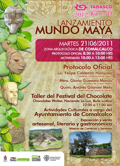 Launching-of-the-Mayan-World-poster