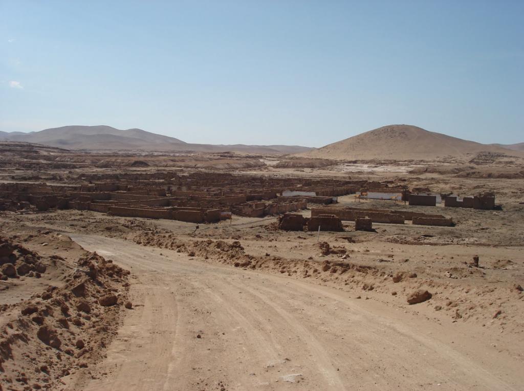 1 Panoramic view of La noria