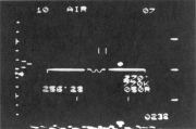 Radar tracking of a UFO, from one of the Belgian F-16s during the night of March 30-31, 1990.
