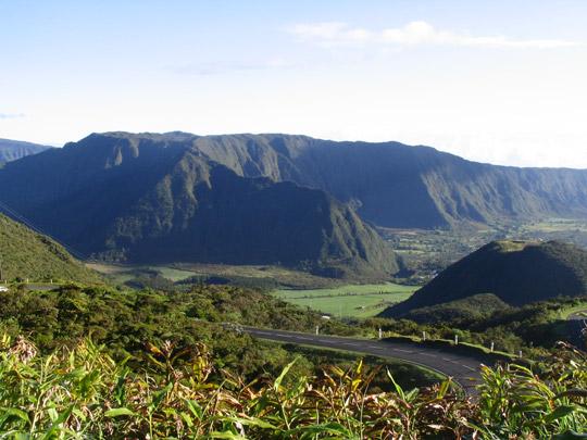A view of the Plaine des Palmistes in Reunion Island. (image credit: Jo Kerozen)