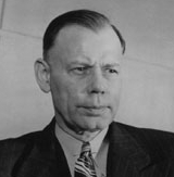 CIA Director Walter Bedell Smith, recipient of the Chadwell Memo. Smith had also been Gen. Dwight Eisenhower's Chief of Staff during the 1944 invasion of Normandy.