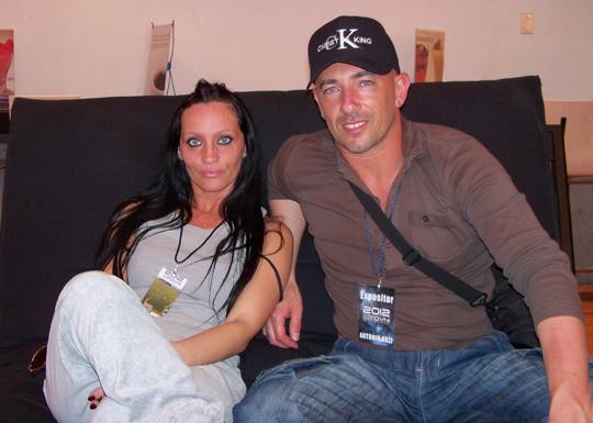 Antonio Urzi with his girlfriend, Simona Sibilla.