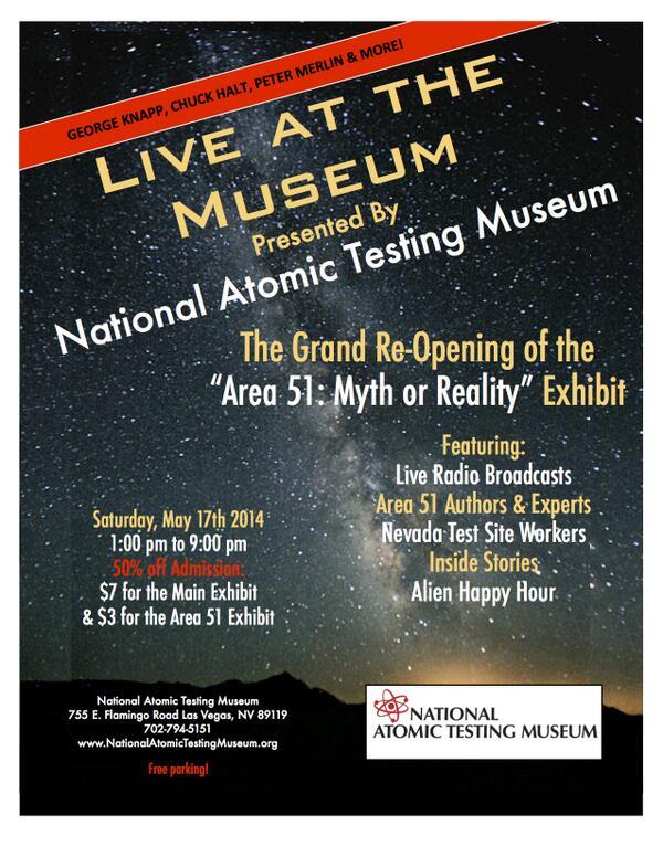 Area 51 exhibit