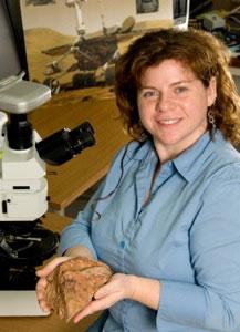 Dr. Barbara Cohen (Credit: NASA)