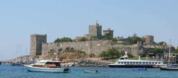 Bodrum Castle. (Credit: Ad Meskens/Wikimedia Commons)
