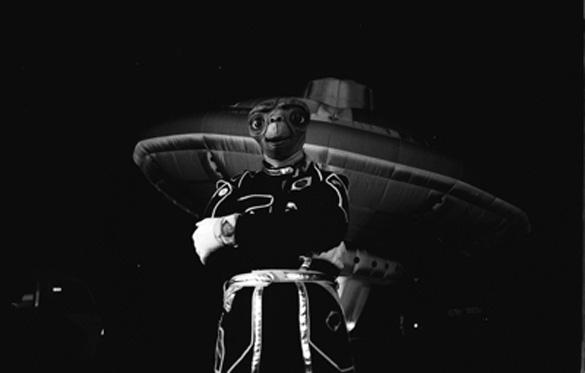 Virgin's alien UFO pilot. (Credit: Virgin)