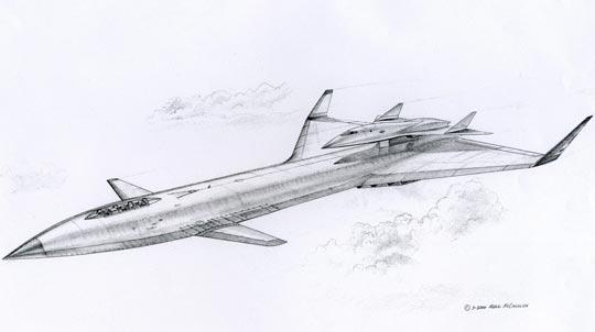 Brilliant Buzzard darawing by Mark McCandlish.Click image to see enlarge.