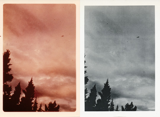 1st picture taken in color and then redeveloped in black and white.
